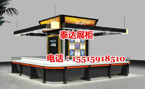 老凤祥珠宝展示柜台效果图