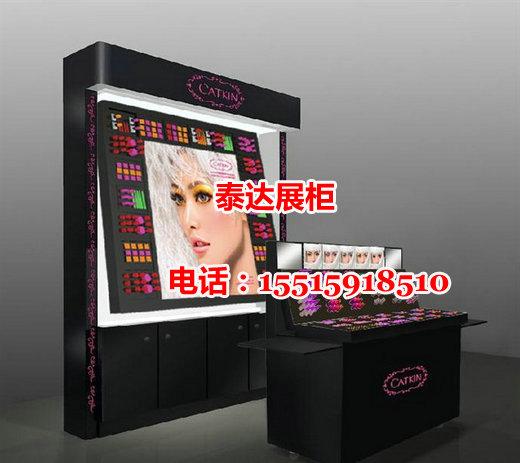 CATKIN彩妆展柜效果图、展示柜设计