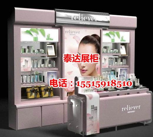 reliever化妆品展柜制作设计、效果图片