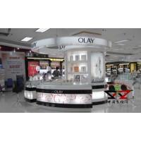 OLAY化妆品展示柜台制作|效果图设计