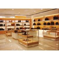 供应箱包展示柜,皮具专卖店柜台,长沙箱包柜定制厂家