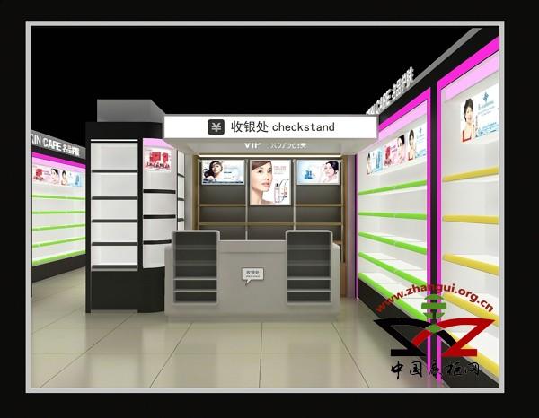 长治化妆品展柜厂家泰达高级定制