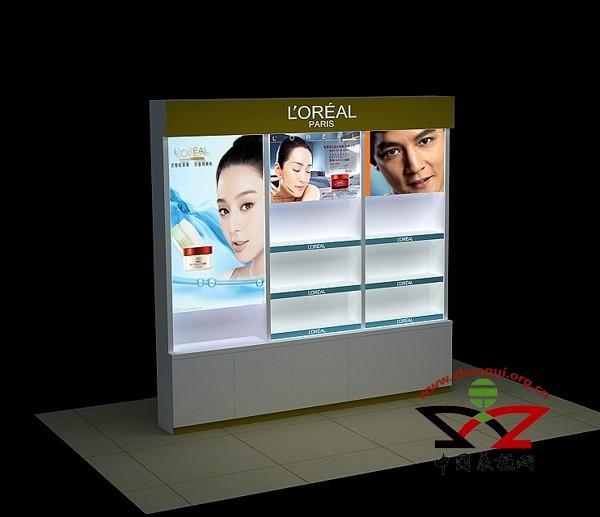 信阳化妆品展柜厂家定做免费安装到泰达