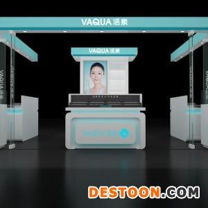 安阳欧莱雅化妆品展柜设计效果图泰达推荐