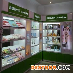 郑州欧莱雅化妆品展柜设计效果图泰达制作