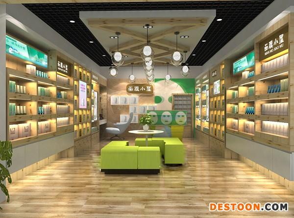 郑州港区化妆品展柜厂哪家制作工艺精湛选泰达您放心