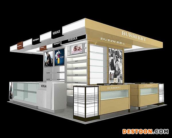 灵宝化妆品展柜专卖店免费设计安装