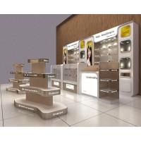 灵宝化妆品展柜专业定做精细工艺价格低