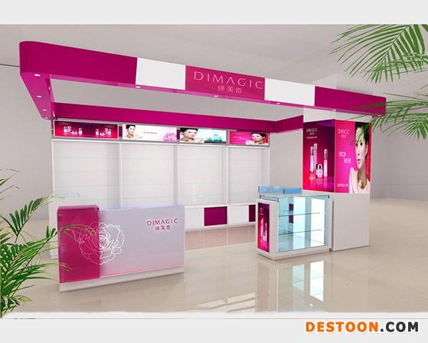 孟津化妆品展柜厂家定做到泰达