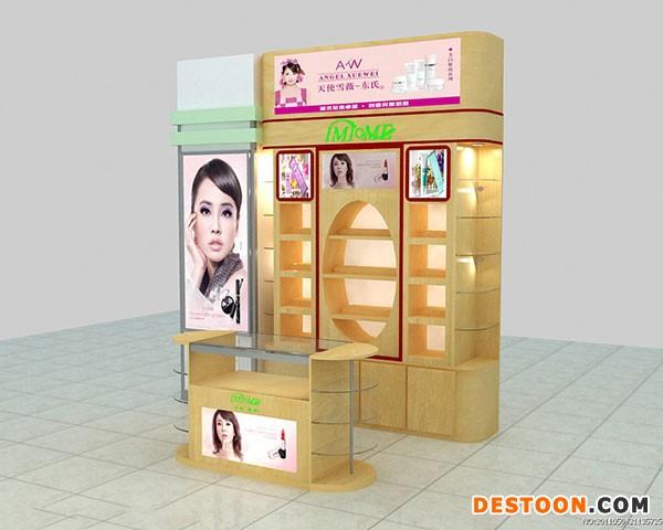 获嘉县化妆品展柜专业定做到泰达展柜厂