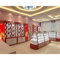 河南化妆品展柜泰达批量定做质量可靠