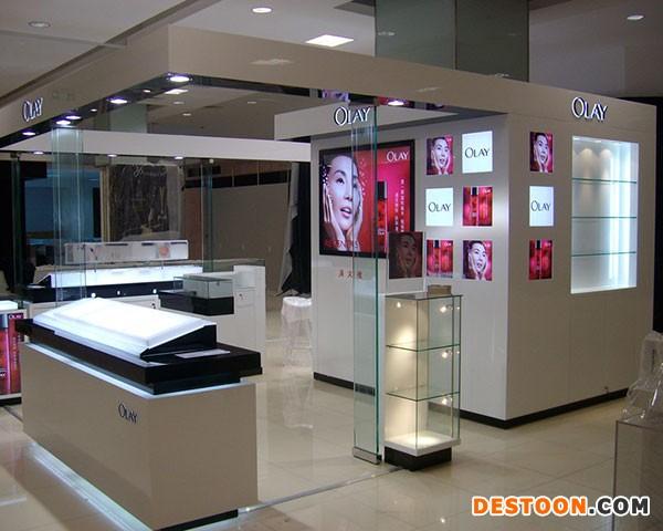 郑州泰达化妆品展柜价格一般是多少