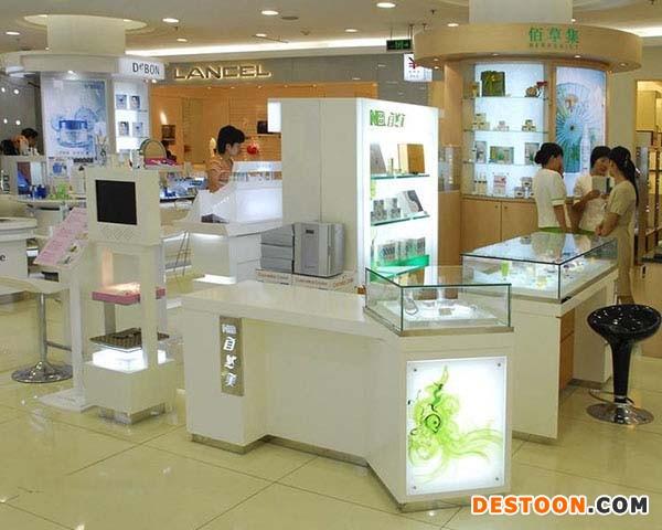 焦作化妆品展柜厂精品设计免费上门安装到泰达