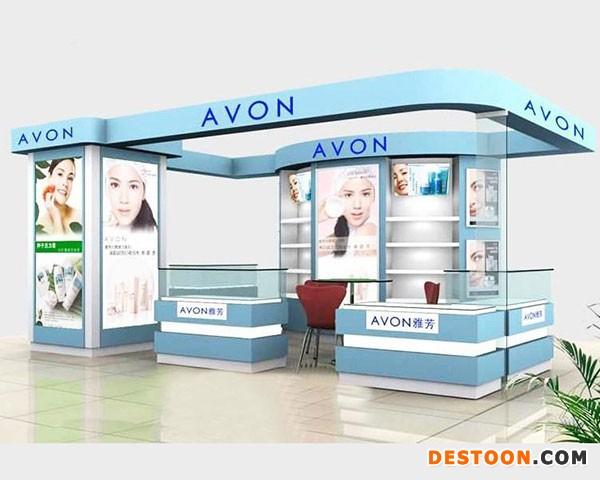 南阳化妆品展柜厂商场专业选择泰达制作价格最低