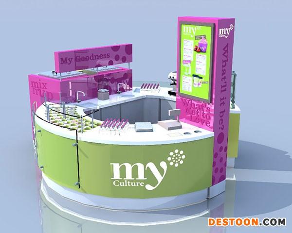 郑州二七区化妆品展柜厂家批发免费安装到泰达