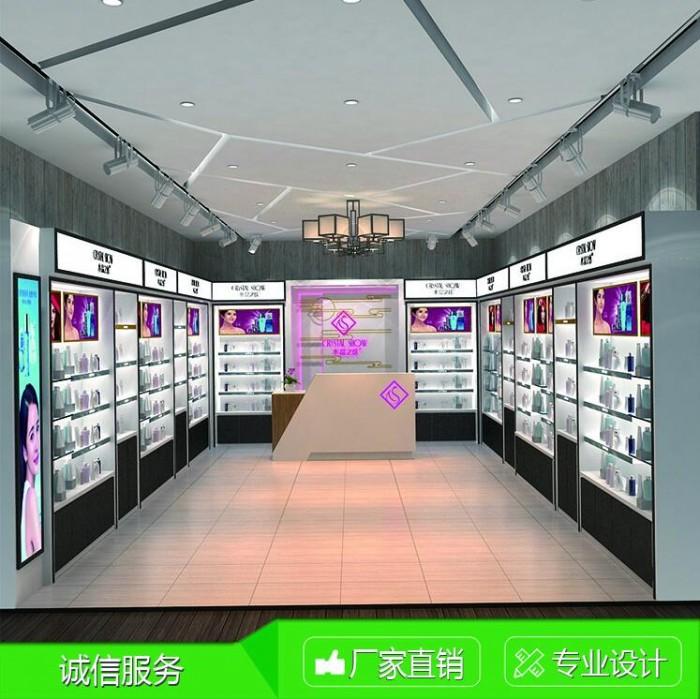 石家庄化妆品展柜厂精品设计上门免费安装到泰达