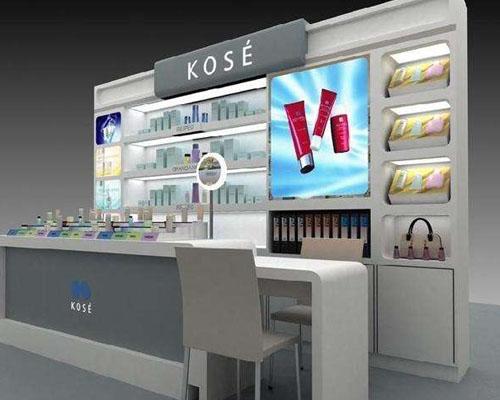 商丘化妆品展柜厂设计生产安装价格低到泰达