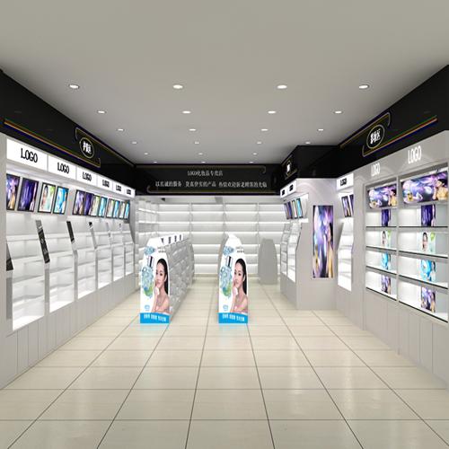 洛阳泰达化妆品展柜厂家批发定做成为潮流