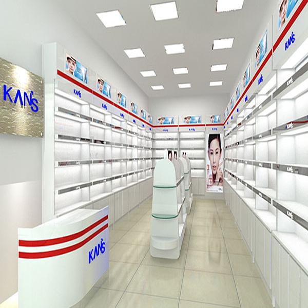 南宁化妆品展柜泰达制作价格低工期短设计时尚