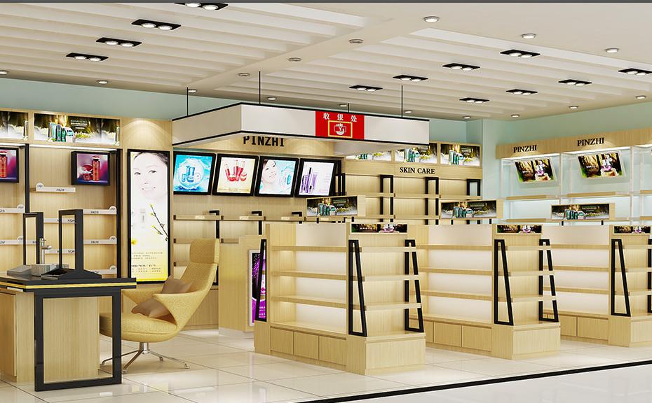 临沂化妆品展柜制作价格是多少泰达定做经济实惠