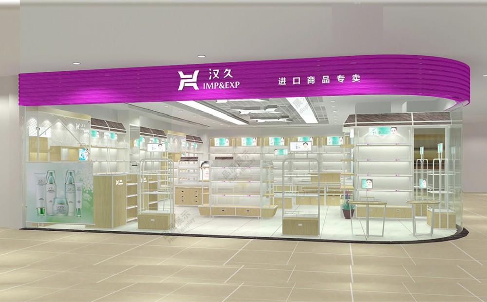 镇江化妆品展柜厂家哪个好泰达制作高档价格低