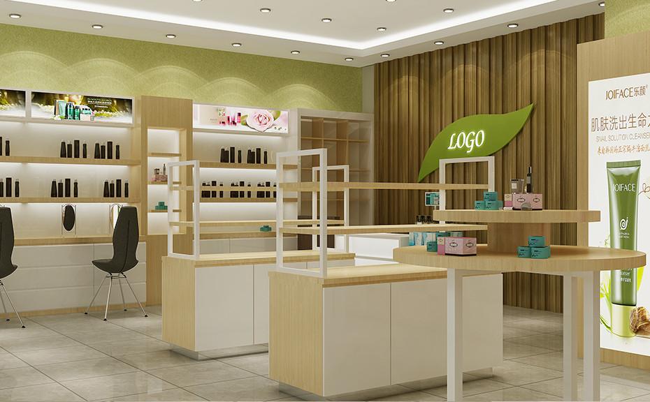 郑州泰达化妆品展柜在许昌像花儿一样开放