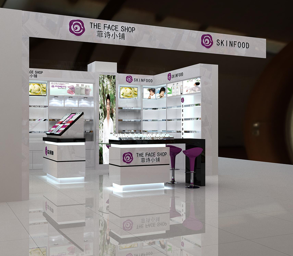 郑州化妆品展柜厂家有哪些泰达制造质量可靠价格低