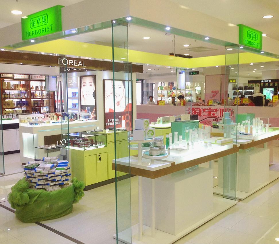 许昌化妆品展柜厂打造个性魅力价格低选泰达