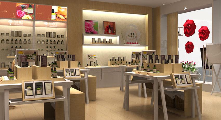 沧州化妆品展柜制作选泰达高档设计价格最低
