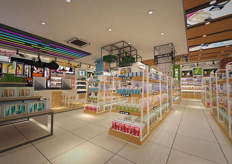 林州有实力的化妆品展柜厂泰达服务好