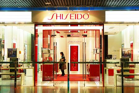 SHISEIDO资生堂化妆品展柜