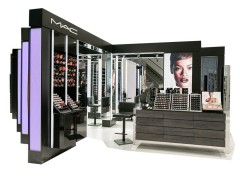 MAC彩妆展示柜